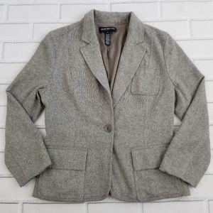 Club Monaco Gray Wool Blazer
